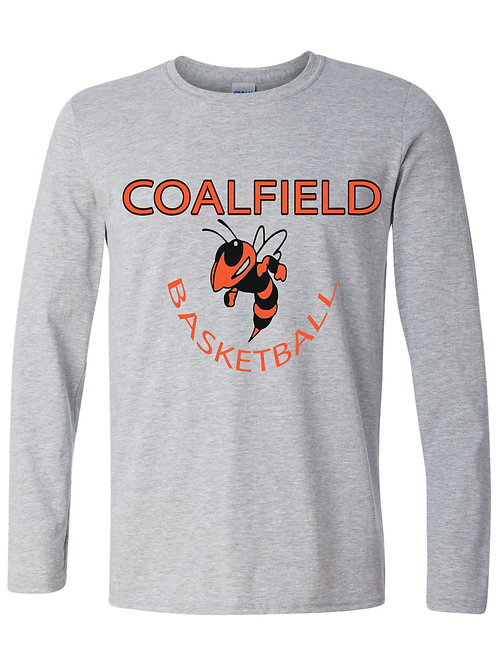 Gildan Long sleeve T-shirt (design 3) Available in black, gray, or orange