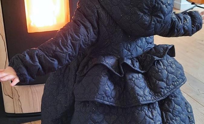 Mon premier manteau pour Bb licorne
