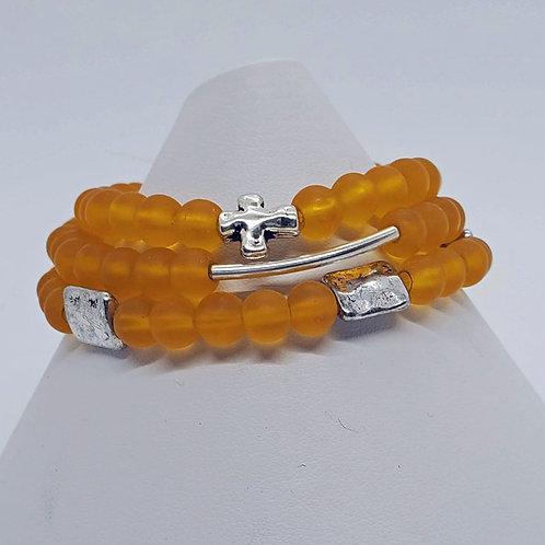 Mustard Stretch Bracelet