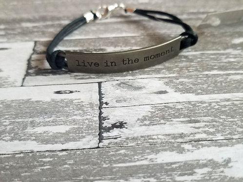 Word Bar Bracelet