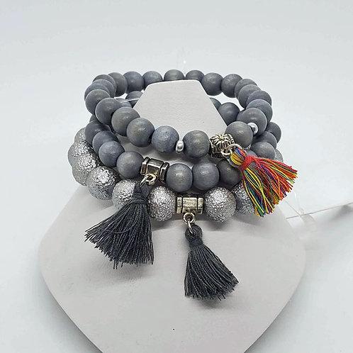 Tassel Stretch Bracelet