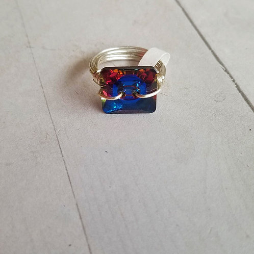 Meridian Blue Wire Wrapped Ring