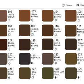 The NEW colors of SEPIA PMU Micropigment