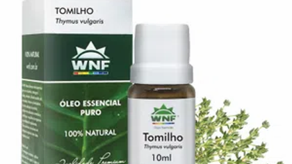 Óleo Essencial Tomilho 10 ml - Thymus vulgaris
