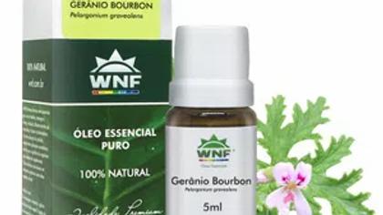 Óleo Essencial Gerânio Bourbon 5ml - Pelargonium graveolens