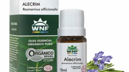 Óleo Essencial Alecrim Orgânico 10 ml - Rosmarinus officinalis