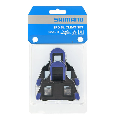 SHIMANO Tacchette Pedali SPD-SL SH12 Blu 2°