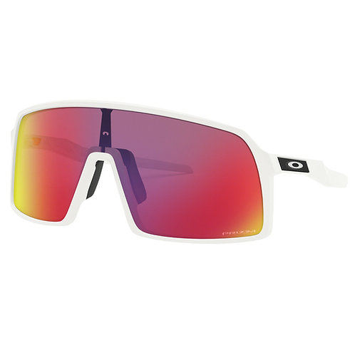 Oakley Matte White - Prizm Road