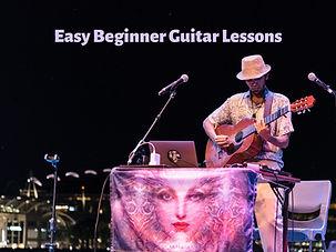 Easy Beginner Guitar Lessons colour 1600