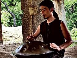 Space Drum artist Kazuhiro Sugano