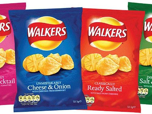 Walkers Crisps 16 x 32.5g Bags