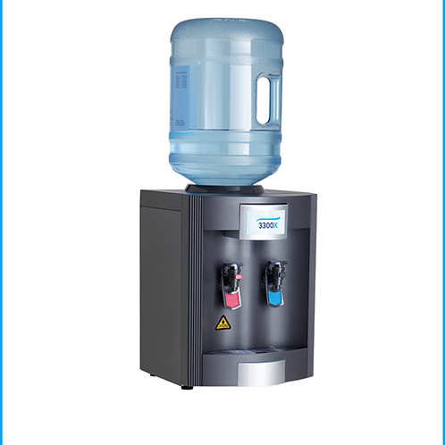 3300X Bottled Tabletop Water Cooler Hot/Cold