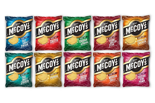 McCoys Ridged Crisps Grab Bag 47.5g