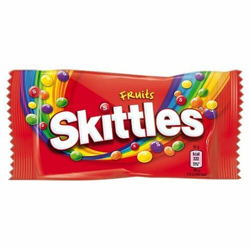 Skittles Fruits Flavour Sweets 18 bags x 55g