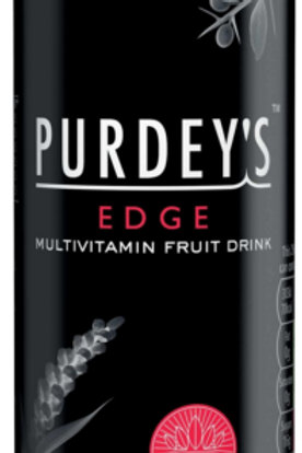 Purdeys Edge Multivitamin Fruit Energy Drink Cans - 6 OR 12 CANS x 250ml
