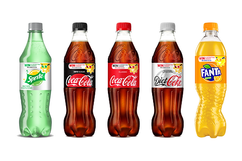 Fizzy Drinks 500ml Bottle