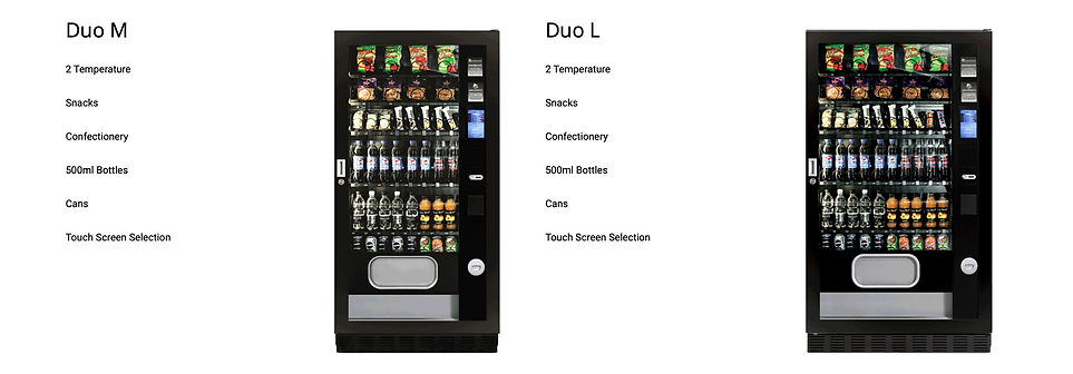 Duo M Cold drinks Snacks Vending