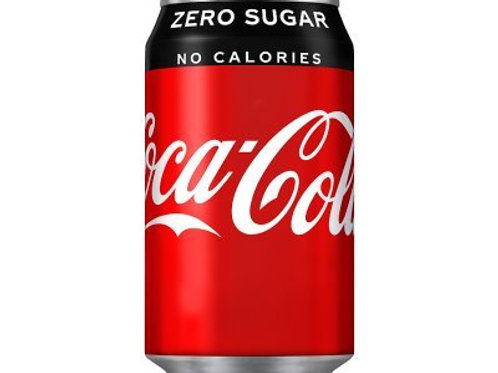 Coca Cola Coke Zero 330ml Cans x 24