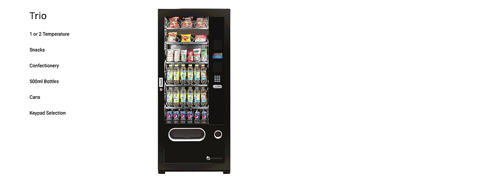 Westomatic Trio Snack Vending Machine