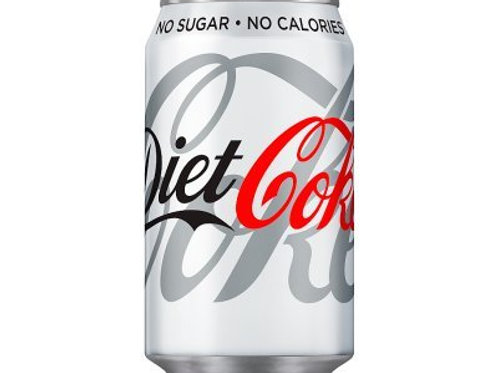 Coca Cola Diet Coke 330ml Cans x 24