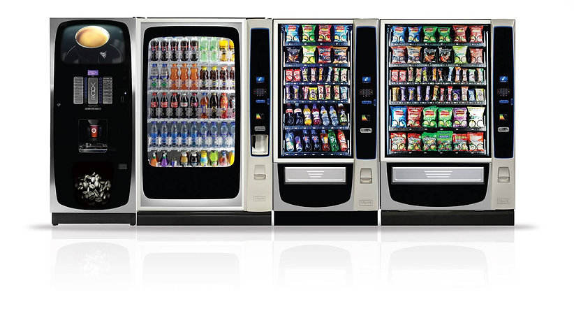 Hire or Lease Vending Machines in Kent or South London