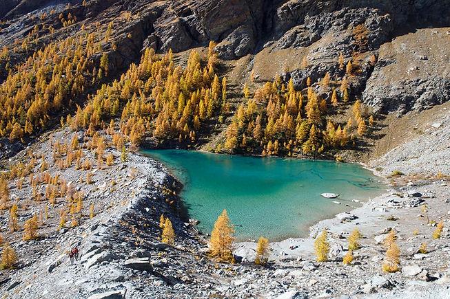 Lago Blu, Val d'Ayas - Valle d'Aosta