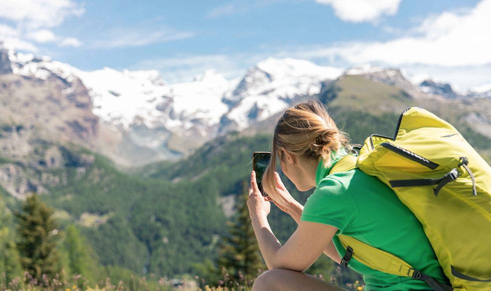 Escursione fotografica sulle Alpi