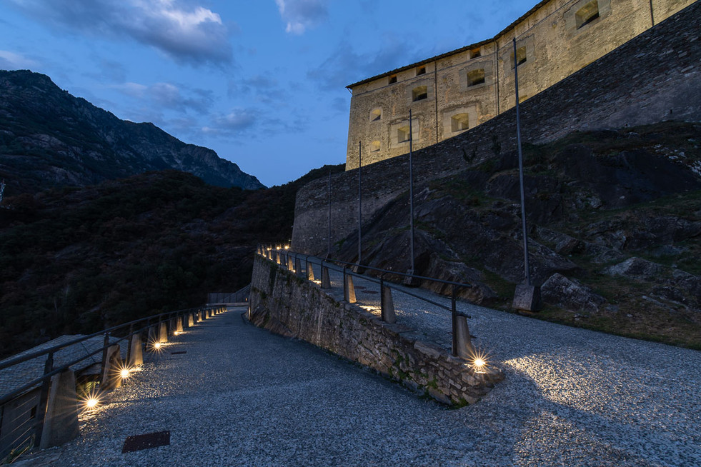 Forte di Bard, fotografia di architettura
