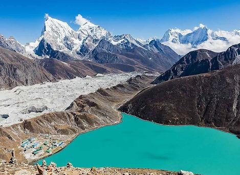 Trekking Campo Base Everest e tre passi.