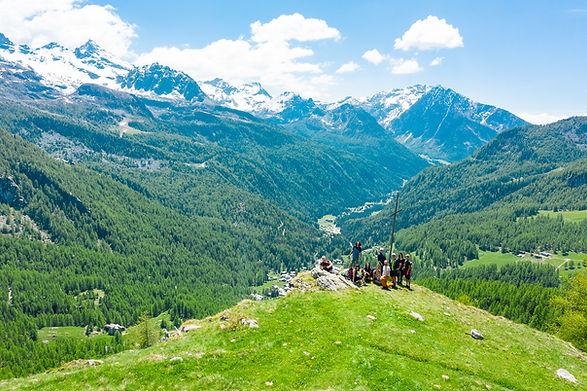 la Val D'Ayas e Champoluc