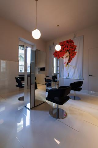 Accademia parrucchieri Torino, fotografia di interni