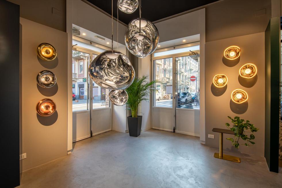 Fotografia di interni e illuminotecnica per Casa delle Lampadine