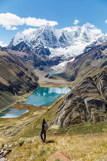 Lagune nella Cordillera Huayhuash