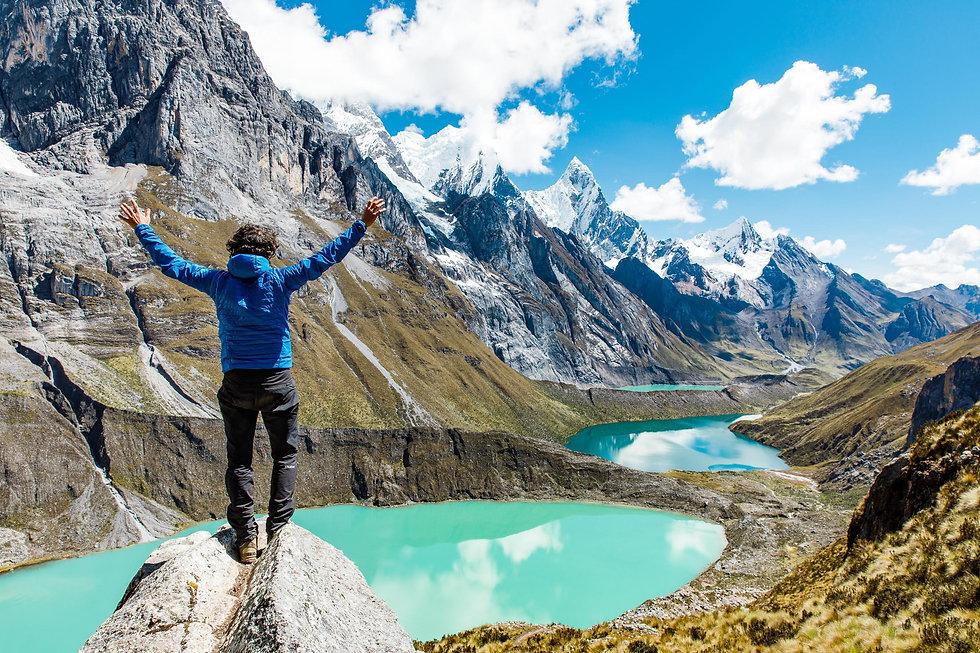 Cordillera Huayhuash, trekking in Perù