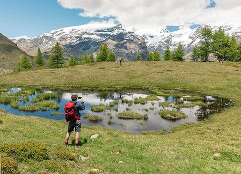 Lago Lechien in Val d'Ayas