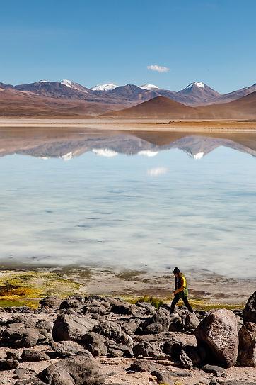 Laguna Celeste, Bolivia