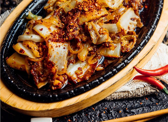 Кимчи жареное со свининой