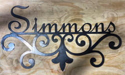 Simmons sign