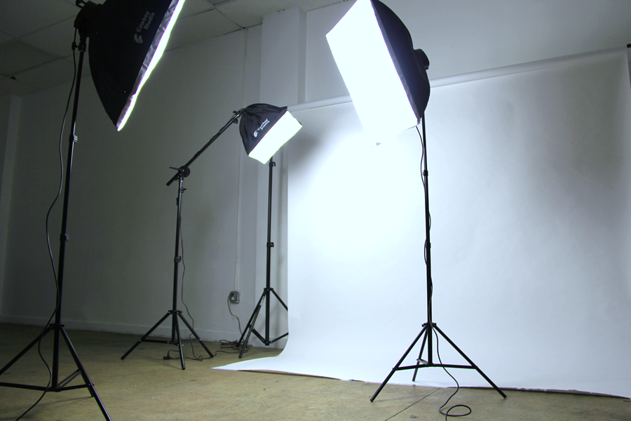 Lighting Equipment and Backdrops