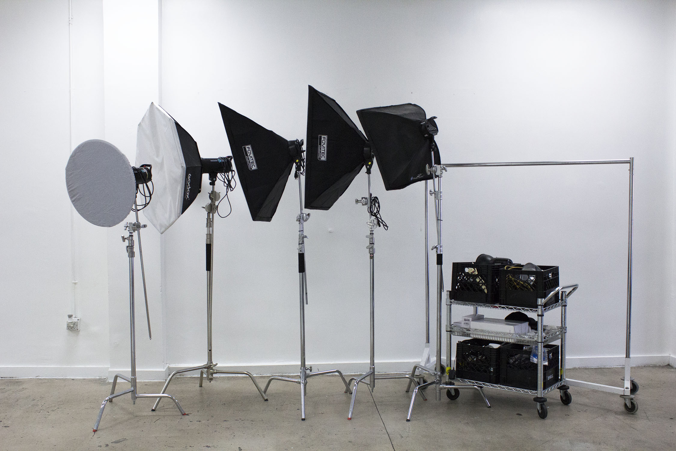 Lighting Included at Opulen Studios