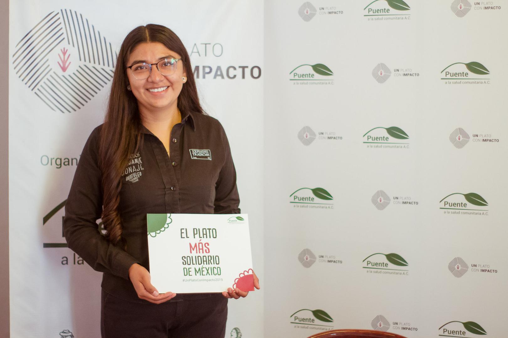 Gracias Expendio Tradición por participar con nosotros en la campaña Un Plato con Impacto.