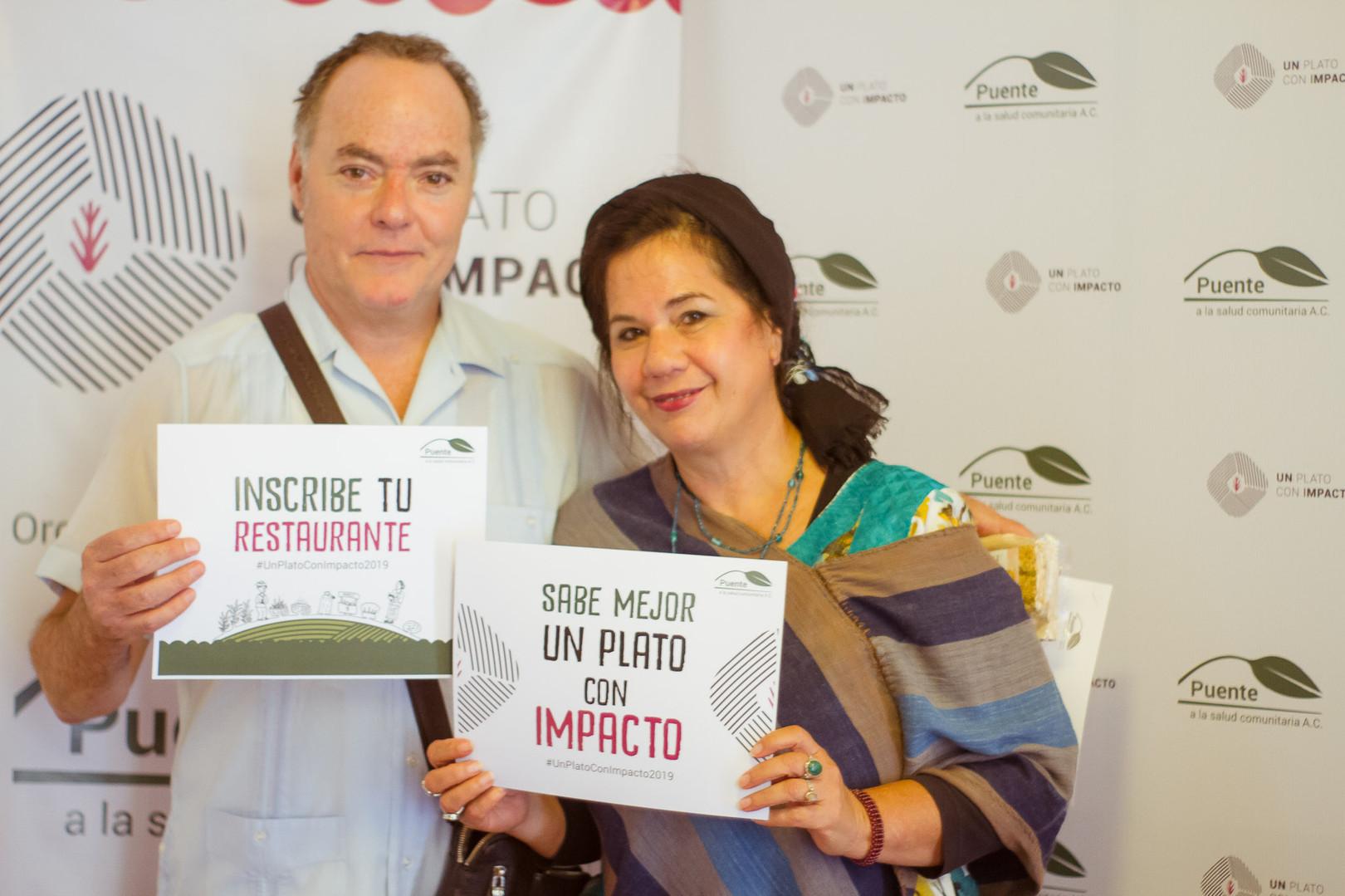 Gracias Seasons of my Heart y Los Danzantes, al unirse como restaurantes solidarios.