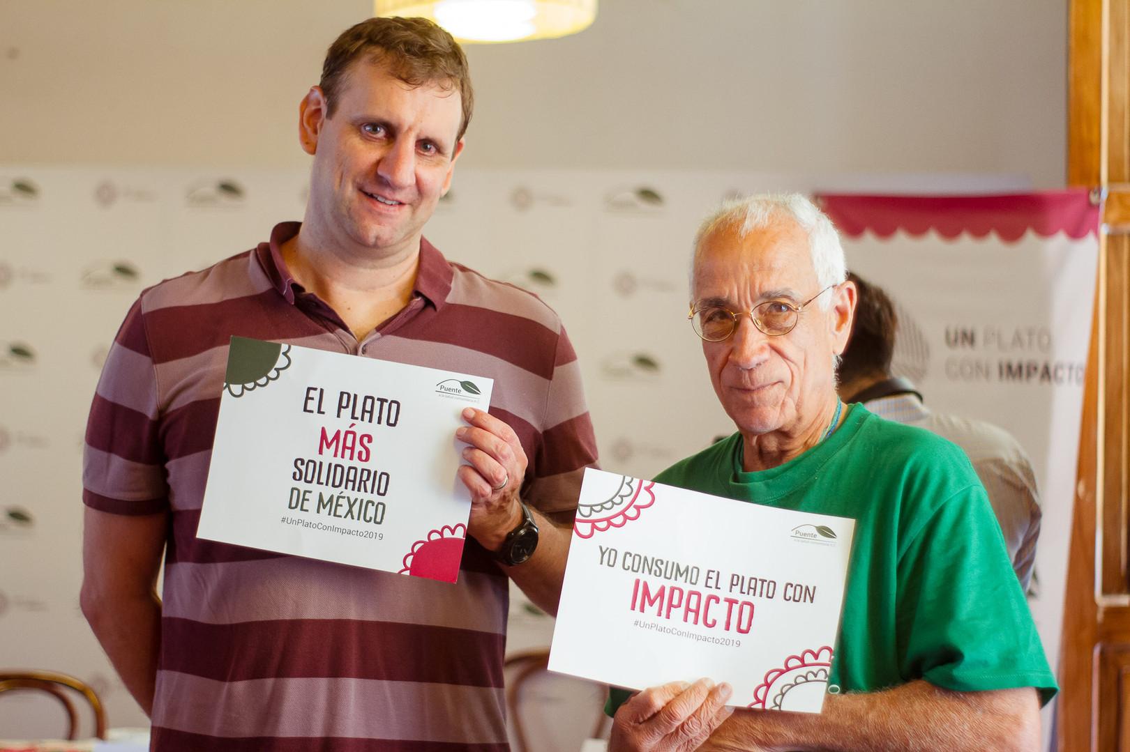 Pete Noll y Sebastián Piñeiro.