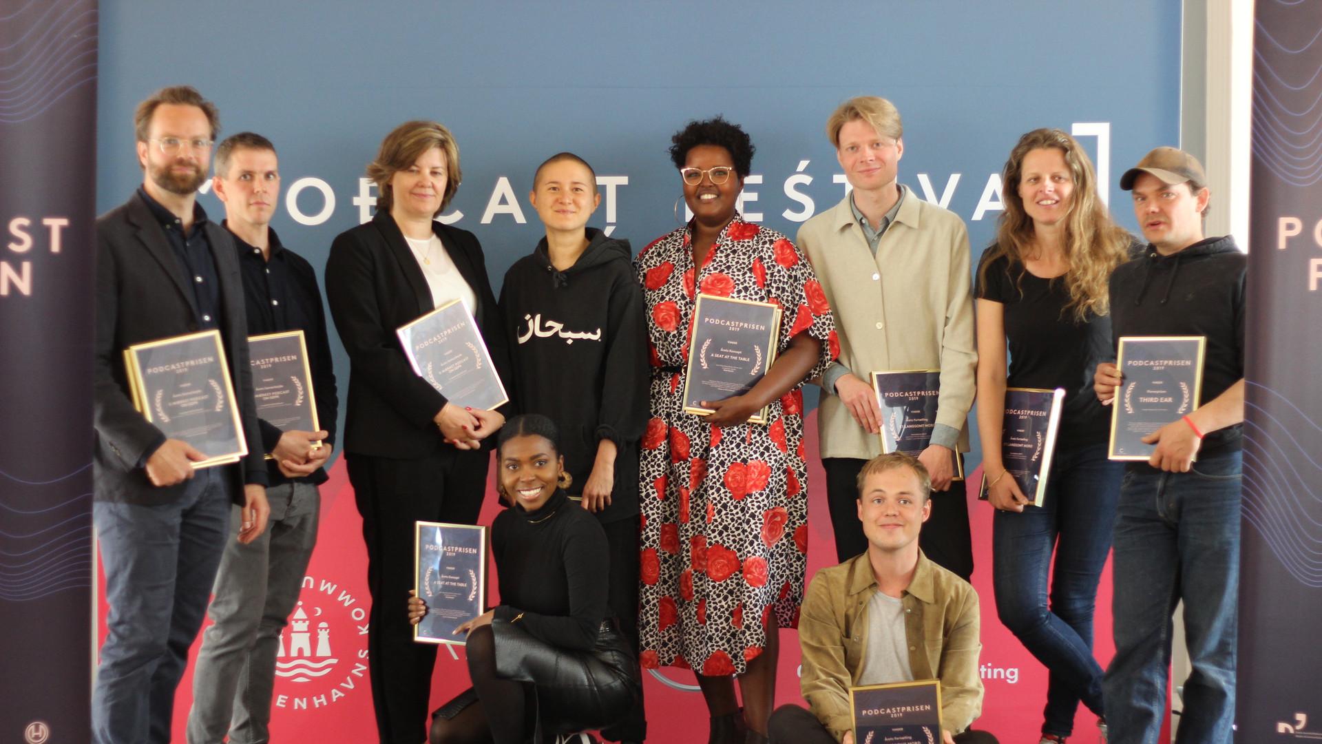 Vinderne - Podcastprisen 2019