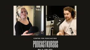 Kom på podcastkursus hos Center for Podcasting