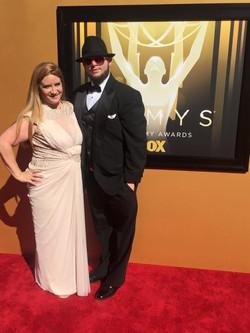 Emmy 2015 with Chris Molina