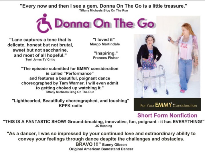 DONNA ON THE GO POSTER REVIEWS WITH CRED