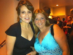 with Tina Fey