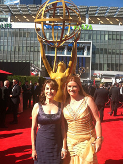at Emmys 2011