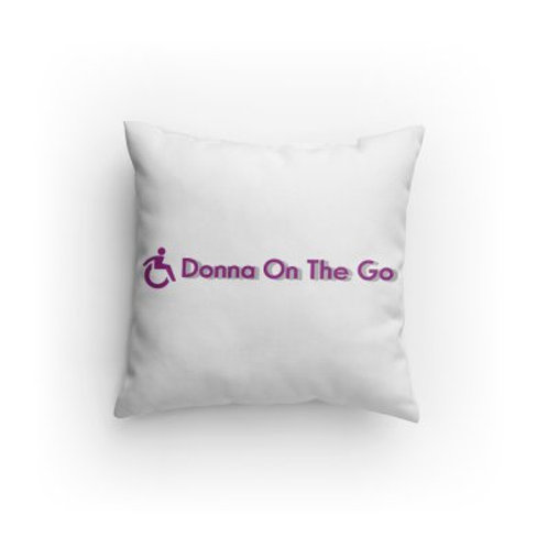 Donna On The Go Pillow